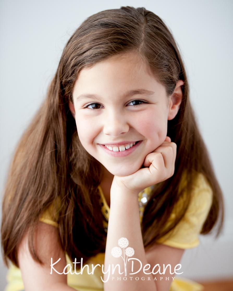 children's head shots hartford ct « Kathryn Deane Photography